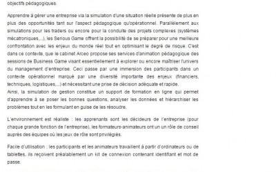 Académie d'Amiens : Arceo – Stratégie et Développement