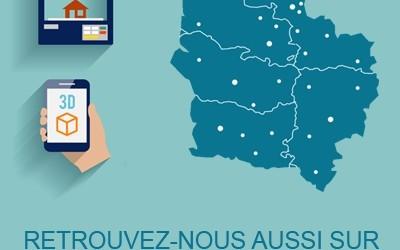 """Arceo référencé sur la """"Carte interactive de l'impression 3D en Hauts-de-France"""""""