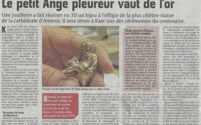«Le petit Ange Pleureur vaut de l'or»