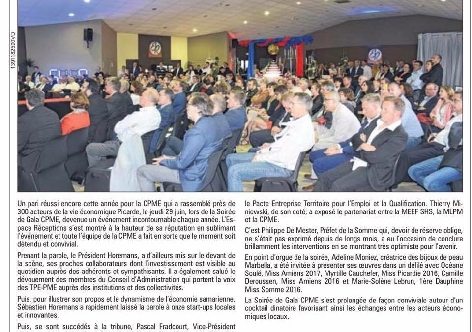 Grand succès pour la Soirée de Gala CPME sur le thème de la Créativité et de l'Innovation